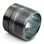 THREADED NIPPLE, CLOSED THREAD FOR RIGID GALVANIZED CONDUIT (RMC, IMC)