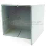 GRAY PVC JUNCTION BOX WITH SCREW COVER