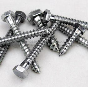 LAG SCREW, ZINC