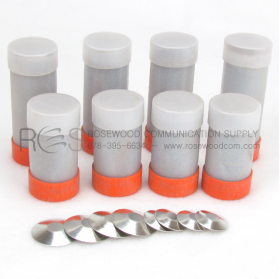 NUWTUBE EXOTHERMIC WELD METAL, STARTING MATERIAL AND WELD METAL IN ONE TUBE