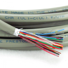 CENTRAL OFFICE CABLE WITH GRAY JACKET