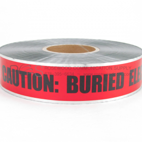 DETECTABLE UNDERGROUND WARNING / MARKING TAPE