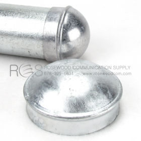 END CAP FOR GALVANIZED STEEL PIPE